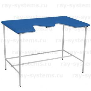 Диагностический ветеринарный стол СВУ-5 синий